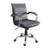 เก้าอี้สำนักงาน แขนเหล็กคู่ รหัส 876