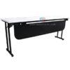 โต๊ะพับอเนกประสงค์ โต๊ะประชุมพับเก็บหน้าโต๊ะได้ เก็บขาได้ รหัส 1246