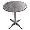 โต๊ะกลมเหล็ก อลูมิเนียม รหัส 570