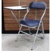 เก้าอี้เลคเชอร์พับ เหล็กหนา มีตะแกรงวางของ รหัส 1041