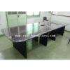 โต๊ะประชุมขาไม้ ตัวต่อ 2 ชิ้น W350 X D120 CM รหัส 1227