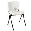 เก้าอี้สำนักงาน รหัส 2443 ขาเหล็กหนาพิเศษ รับน้ำหนัก 120 KG