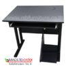 โต๊ะคอมพิวเตอร์ ขาเหล็กกลมหนา W80XD60 CM รหัส 390 รุ่นขายดี ราคาโปรโมชั่น