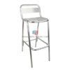 เก้าอี้บาร์อลูมิเนียม เก้าอี้อลูมิเนียม สามารถใช้กลางแจ้ง รหัส 492
