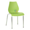 เก้าอี้สำนักงานหลังเว้า โครงขาเหล็กหนาพิเศษ รหัส 617