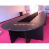โต๊ะประชุมตัวต่อ ตัว U จำนวน 27-30 ที่นั่ง W795XD180 CM รหัส 1154