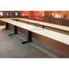 โต๊ะประชุมตัวต่อ ตัว U 15-18 ที่นั่ง ขนาด W540XD180 CM รหัส 1748