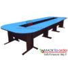 โต๊ะประชุมขาเหล็กตัวต่อ 12-14 ที่นั่ง W510 X D150 CM รหัส 2249