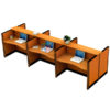 โต๊ะทำงานกลุ่ม 6ที่นั่ง TOP WAVE WORKSTATION W386XD125XH108CM รหัส 2580