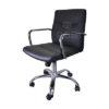 เก้าอี้ทำงาน แขนเหล็ก รุ่นขายดี พนักพิงหนัง รหัส 2928
